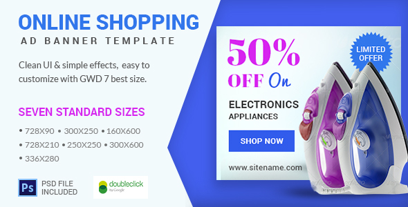 On line buying – HTML Animated Banner 09 (Ad Templates)