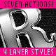 Seven Actions Four Layer Styles - GraphicRiver Item for Sale