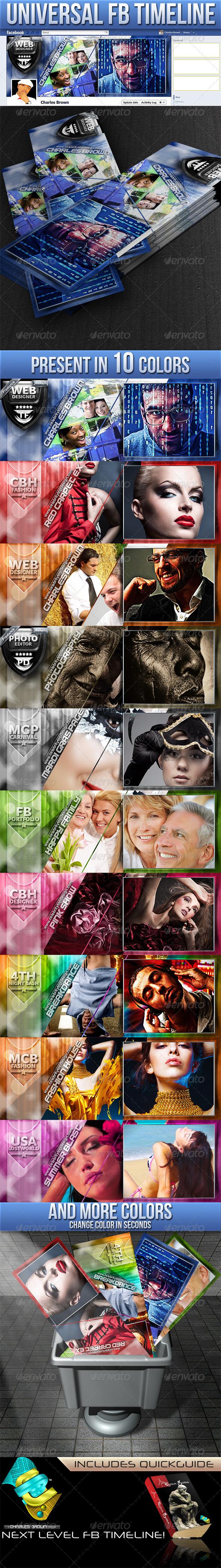 Universal Facebook Timeline - Facebook Timeline Covers Social Media