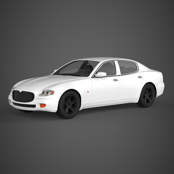 Realistic Car Maserati 3200GT - 3DOcean Item for Sale