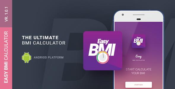 Easy BMI Calculator   Android Studio Mobile Application