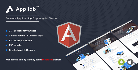 AppLab - Premium App Landing Page Angular Version (Technology) AppLab - Premium App Landing Page Angular Version (Technology) 01 preview