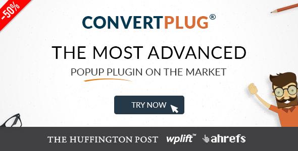 Popup Plugin For WordPress - ConvertPlug