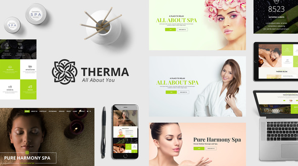 Download Therma - Spa, Beauty, Cosmetic WordPress Theme nulled download