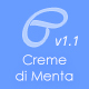 Creme Di Menta - Responsive WordPress Blog