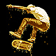 Realistic Dripping Gold Photoshop Action