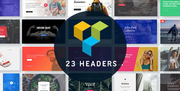 Headers for Visual Composer WordPress Plugin (Add-ons)