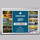Desk Calendar 2017-V06