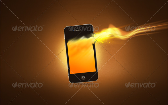 PhotoDune Phone Flame 1857302