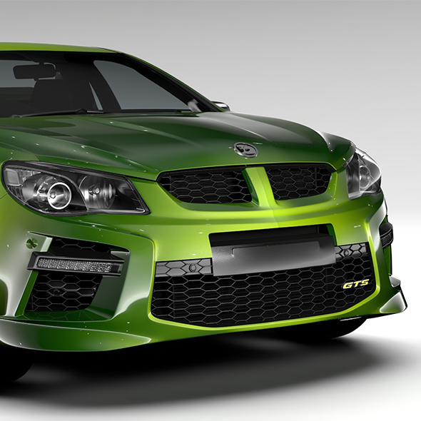HSV GTS Maloo GEN F2 2015 - 3DOcean Item for Sale