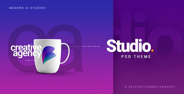 STUDIO   A Creative Agency Multipurpose PSD Template
