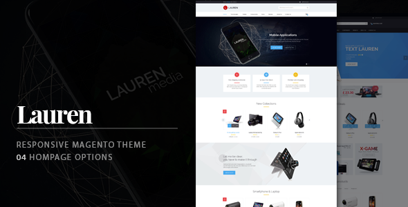 Lauren - Technology Responsive Magento Theme
