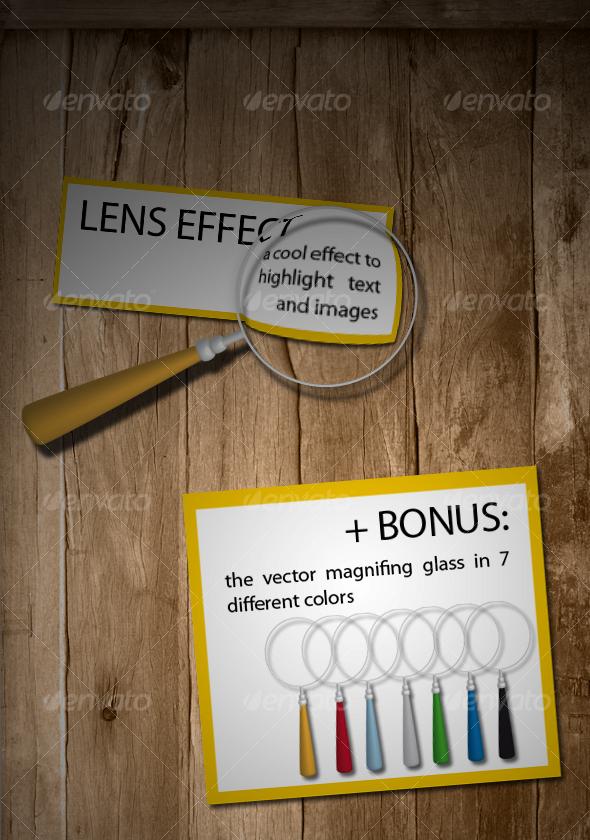 Lens Effect - Utilities Actions
