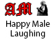 Happy Male Laughing