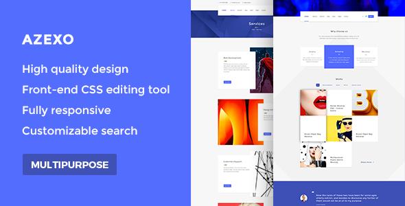 AZEXO Shop – Multipurpose eCommerce WordPress Theme (WooCommerce)