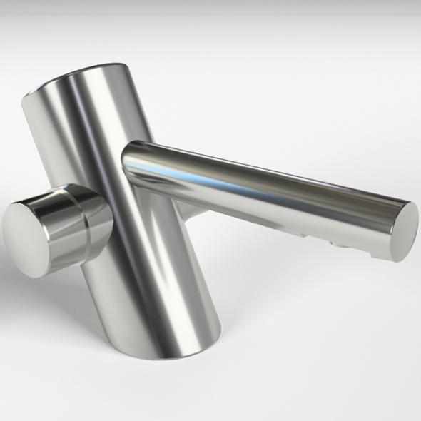 Self Closing Wash Basin Faucet - 3DOcean Item for Sale