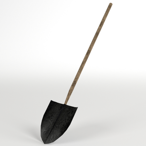 Shovel - 3DOcean Item for Sale