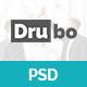 Drubo - Corporate PSD Template