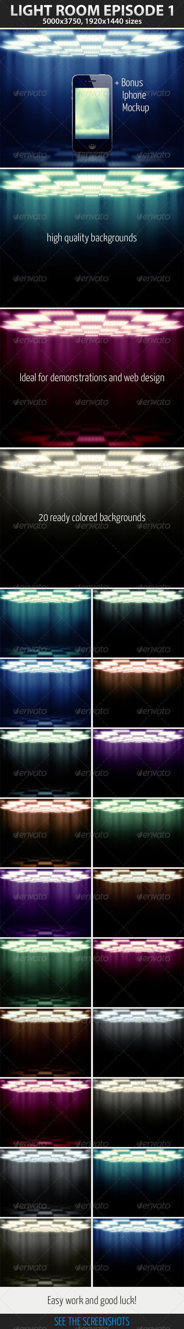 Light Room Episode 1 - Backgrounds Graphics
