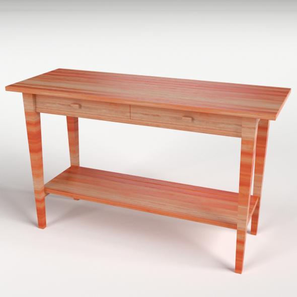 Desk 2 - 3DOcean Item for Sale