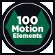 100 Motion Elements Pack