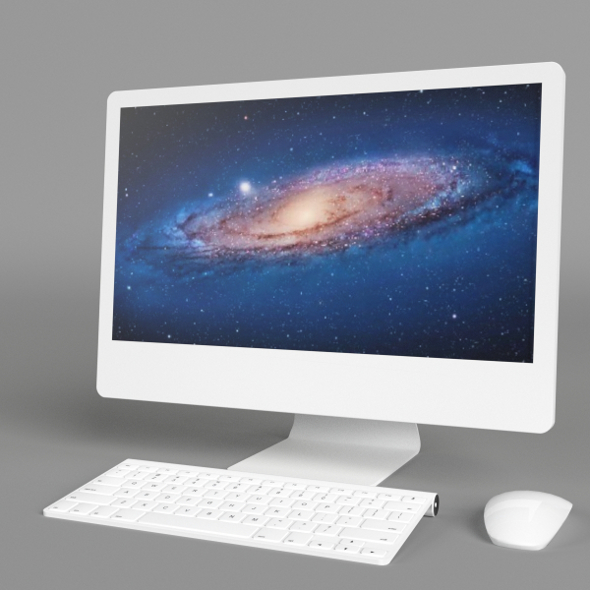 iMac Computer - 3DOcean Item for Sale