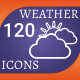 120 Weather Forecast Icons