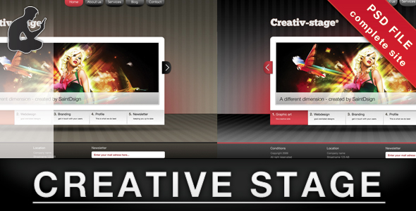 Creative stage - PSD