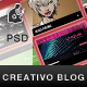 Creativo Blog/Portfolio - ThemeForest Item for Sale