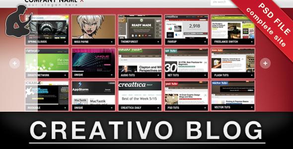 Creativo Blog/Portfolio