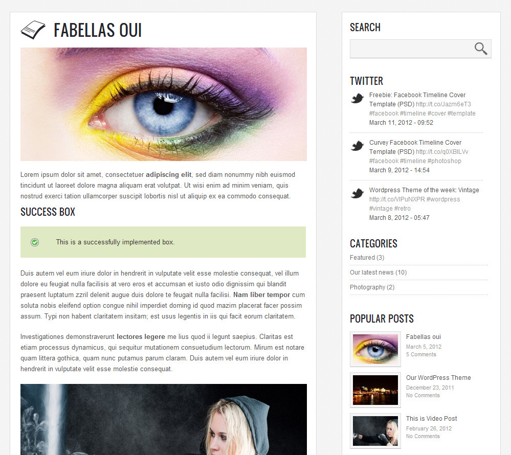 Radial - Creative Blog & Portfolio Wordpress Theme