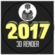 2017 Iluminated 3D Render