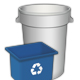 Garbage Containers - GraphicRiver Item for Sale