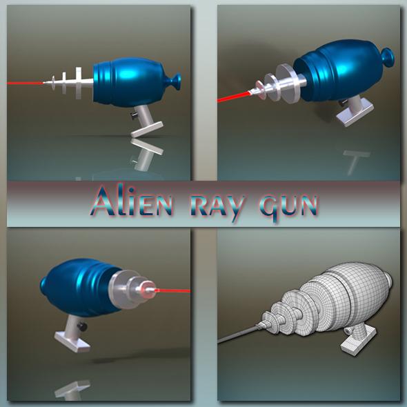 3DOcean Alien Ray gun 18903529