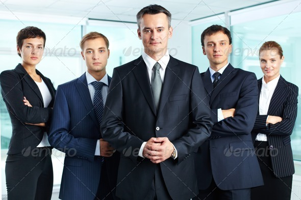 Professional team - Stock Photo - Images