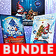 Christmas Flyers Bundle-Graphicriver中文最全的素材分享平台