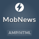 MobNews - AMP News Template