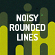 Noisy Rounded Lines Backgro-Graphicriver中文最全的素材分享平台