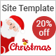 Christmas / New Year Party Template With Wish Mailer