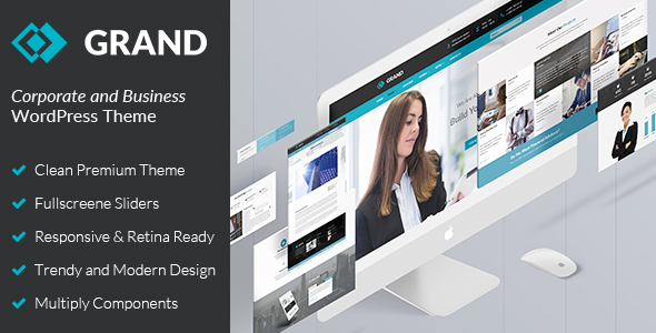 Download Business & Corporate WordPress Theme - Grand