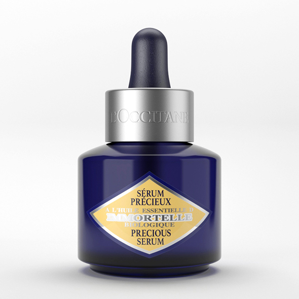 Cosmetic Packaging L'Occitane Immortelle Precious Serum - 3DOcean Item for Sale