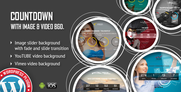 Download CountDown With Image or Video Background - Responsive WordPress Plugin nulled download