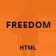 Freedom - Responsive One Page HTML Template