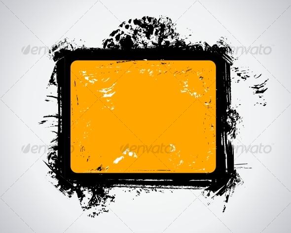 GraphicRiver Grunge frame 72275