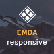 EMDA Muse responsive templates