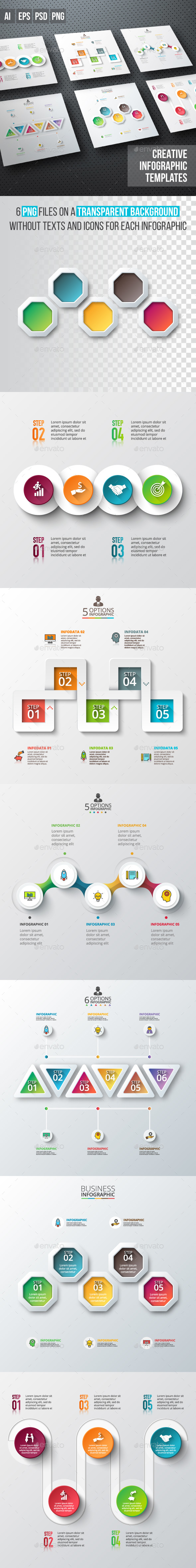 Business infographic diagrams v.04