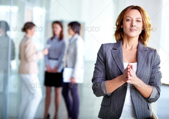 Stylish employer - Stock Photo - Images