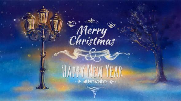 VideoHive Christmas Greeting Card 18918127