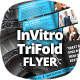 InVitro Tri Fold Flyer Template