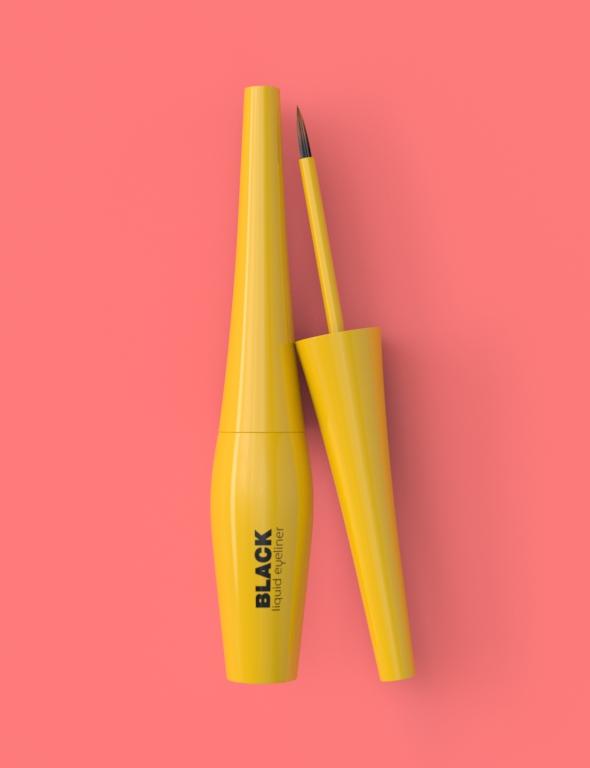 Cosmetic Product Packaging Eye Liner - 3DOcean Item for Sale